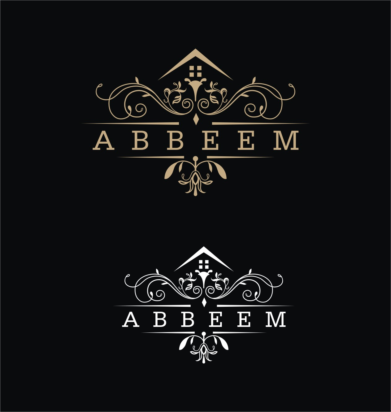 Logo Design by Spider Graphics - Entry No. 183 in the Logo Design Contest Luxury Logo Design for Abbeem.