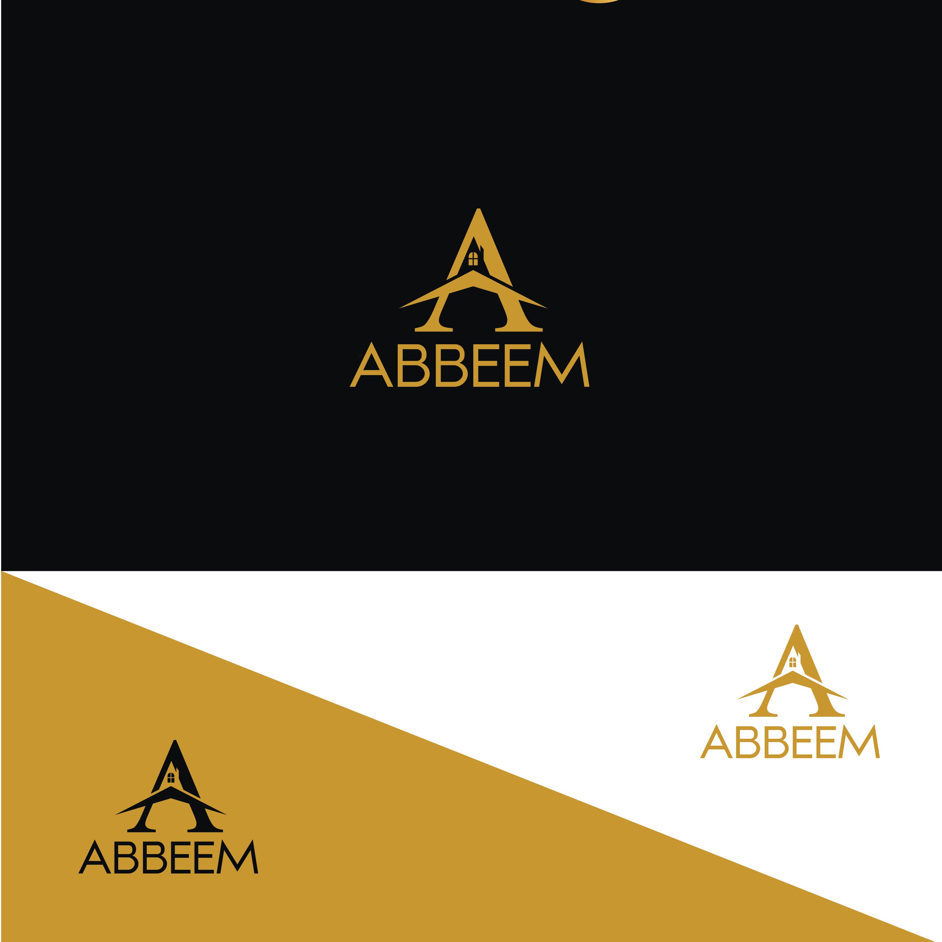 Logo Design by Private User - Entry No. 188 in the Logo Design Contest Luxury Logo Design for Abbeem.