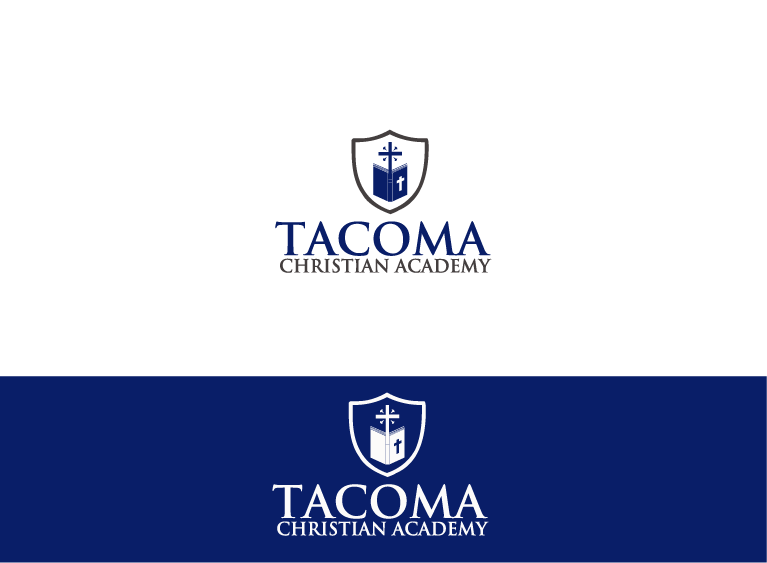 Logo Design by Muhammad Hashim - Entry No. 5 in the Logo Design Contest Imaginative Logo Design for Tacoma Christian Academy.