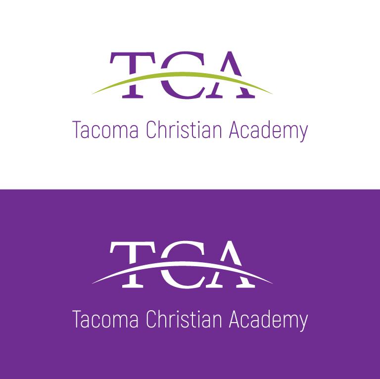 Logo Design by Sahajad Shaikh - Entry No. 22 in the Logo Design Contest Imaginative Logo Design for Tacoma Christian Academy.
