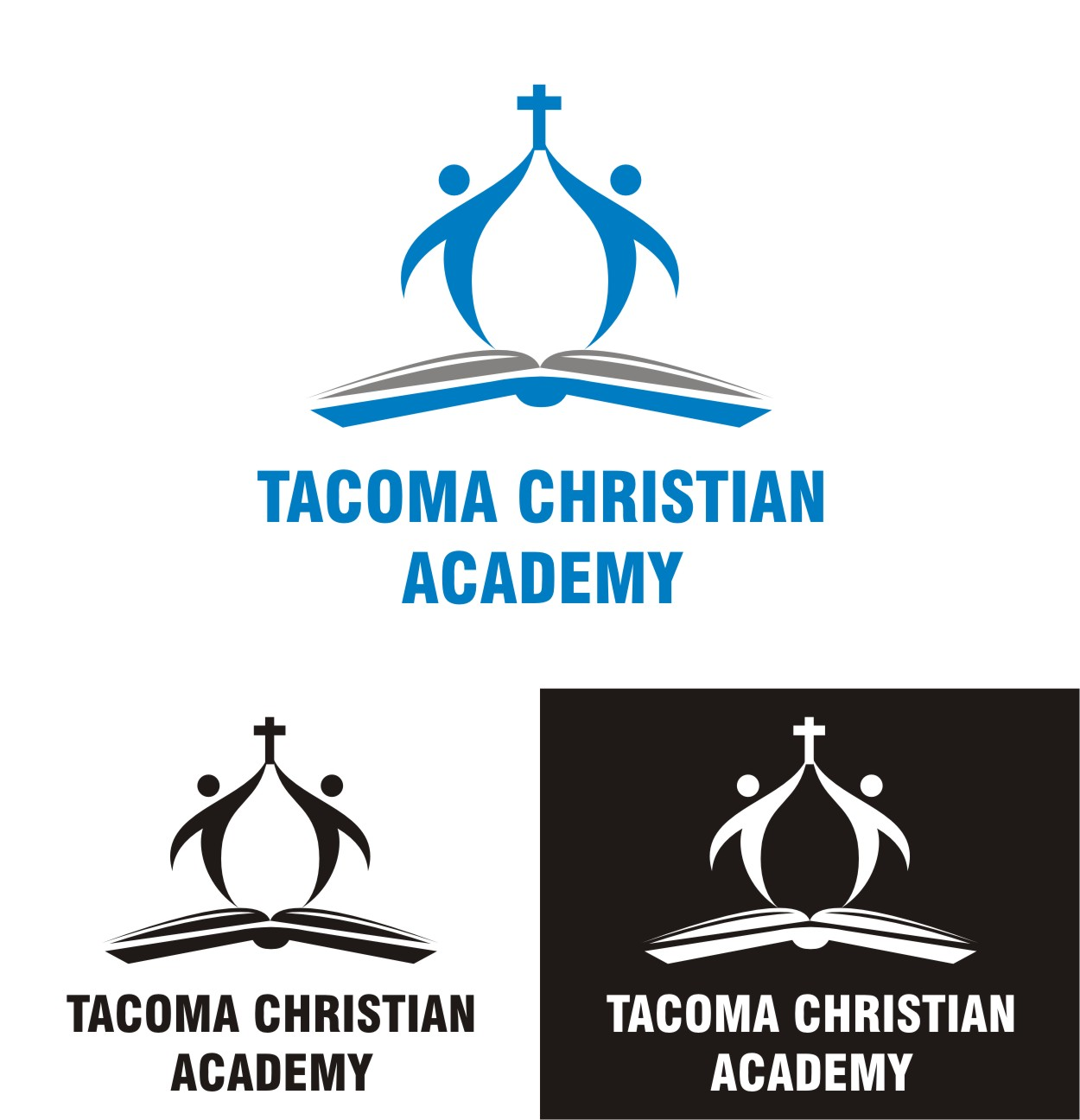 Logo Design by Spider Graphics - Entry No. 27 in the Logo Design Contest Imaginative Logo Design for Tacoma Christian Academy.