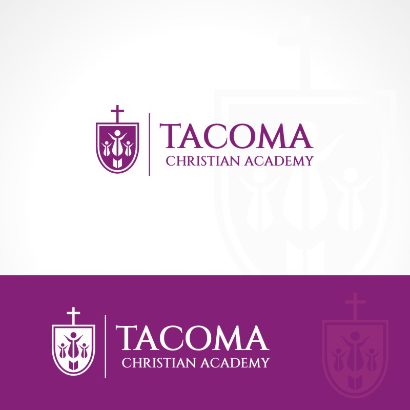 Logo Design by Private User - Entry No. 33 in the Logo Design Contest Imaginative Logo Design for Tacoma Christian Academy.