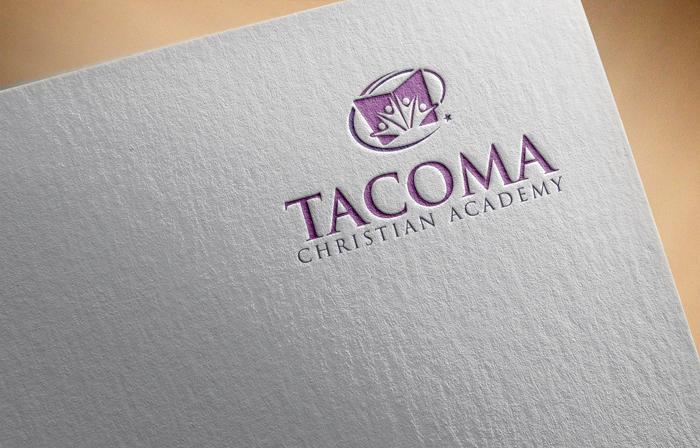 Logo Design by Mohammad azad Hossain - Entry No. 37 in the Logo Design Contest Imaginative Logo Design for Tacoma Christian Academy.