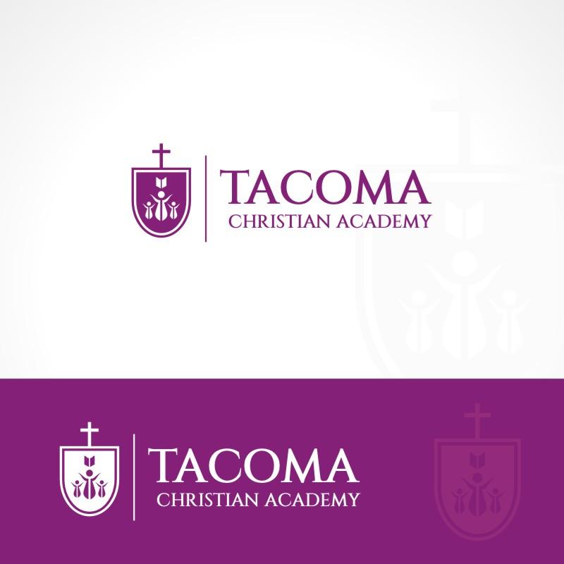 Logo Design by Private User - Entry No. 39 in the Logo Design Contest Imaginative Logo Design for Tacoma Christian Academy.