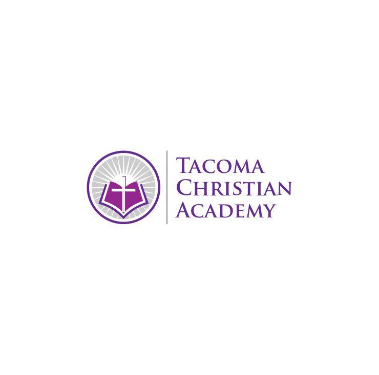 Logo Design by Raymond Garcia - Entry No. 40 in the Logo Design Contest Imaginative Logo Design for Tacoma Christian Academy.