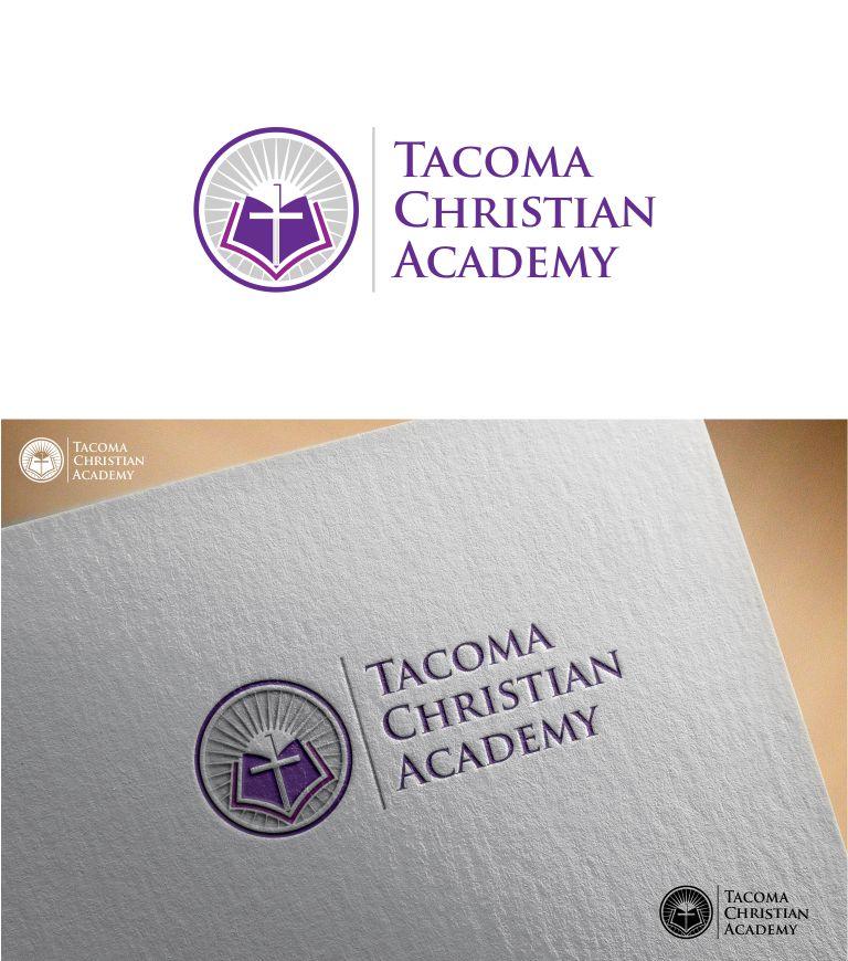 Logo Design by Raymond Garcia - Entry No. 42 in the Logo Design Contest Imaginative Logo Design for Tacoma Christian Academy.