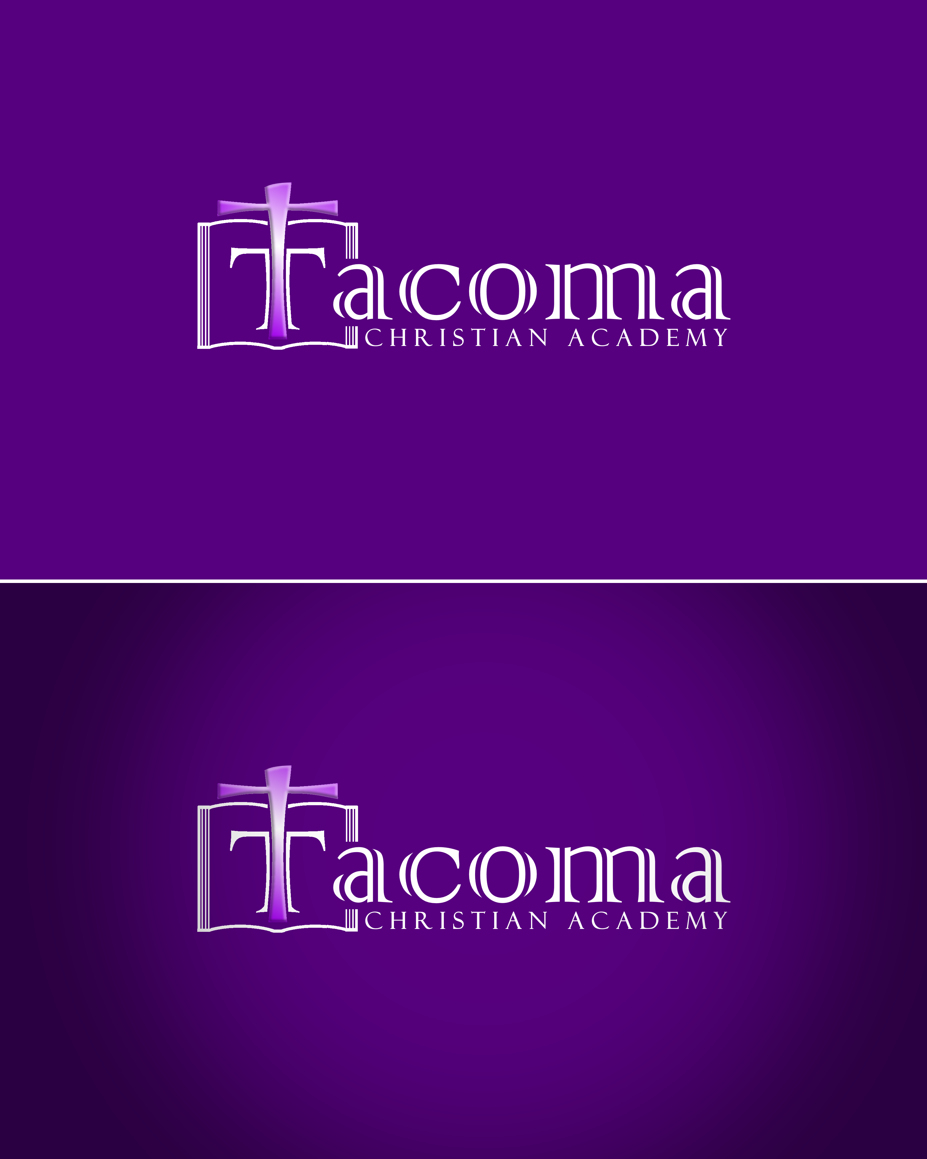 Logo Design by Roberto Bassi - Entry No. 45 in the Logo Design Contest Imaginative Logo Design for Tacoma Christian Academy.