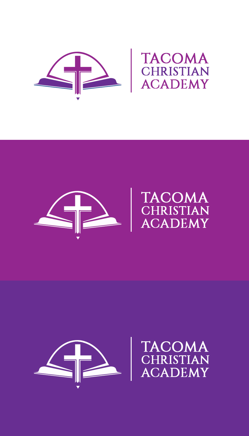 Logo Design by MonsterGraphics - Entry No. 52 in the Logo Design Contest Imaginative Logo Design for Tacoma Christian Academy.