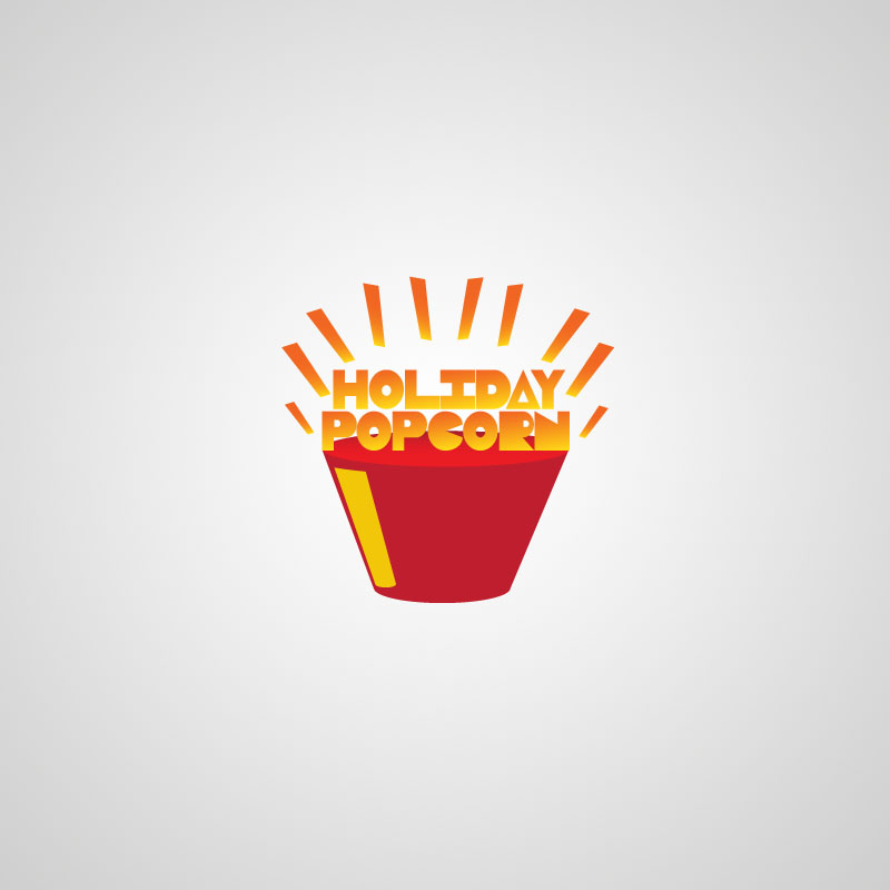 Logo Design by musemuse - Entry No. 38 in the Logo Design Contest Holiday Popcorn.