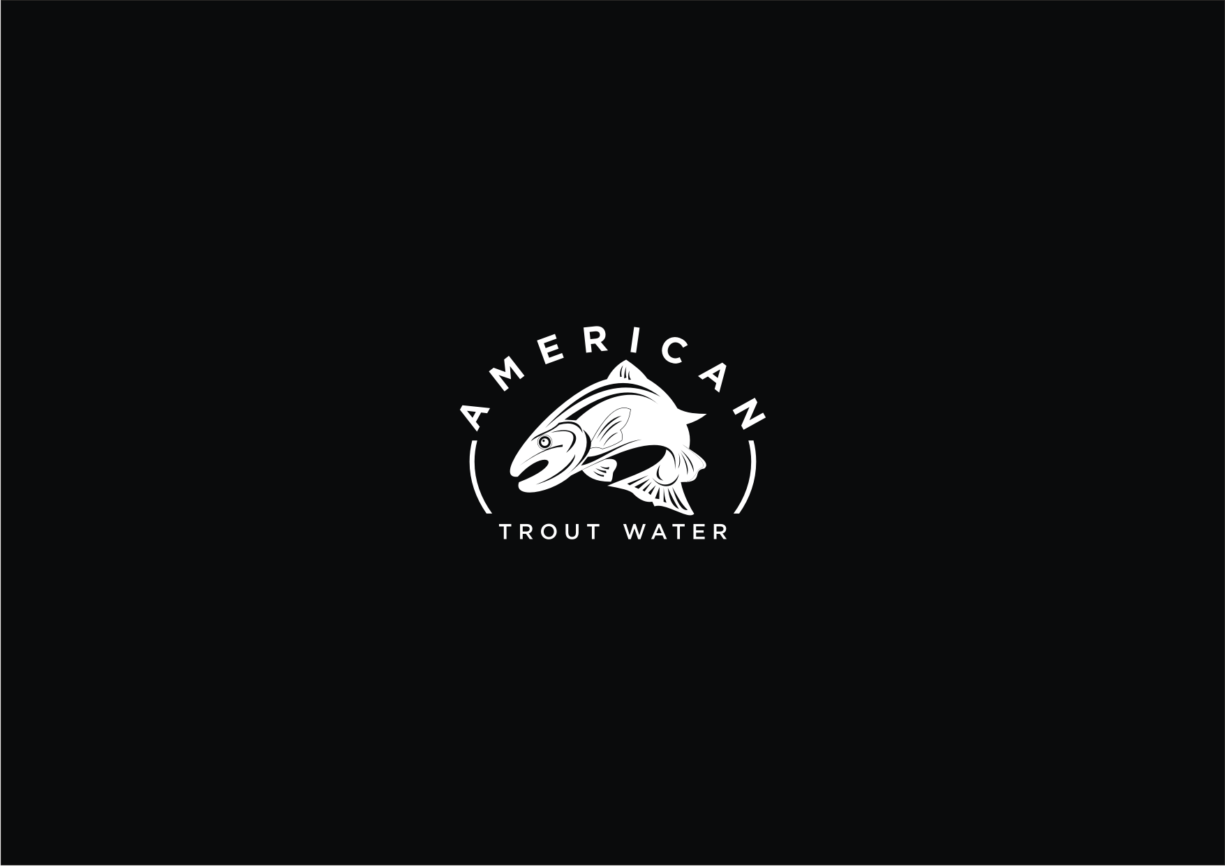 Logo Design by Sigitumarali Sigit - Entry No. 1 in the Logo Design Contest American Trout Water Logo Design.