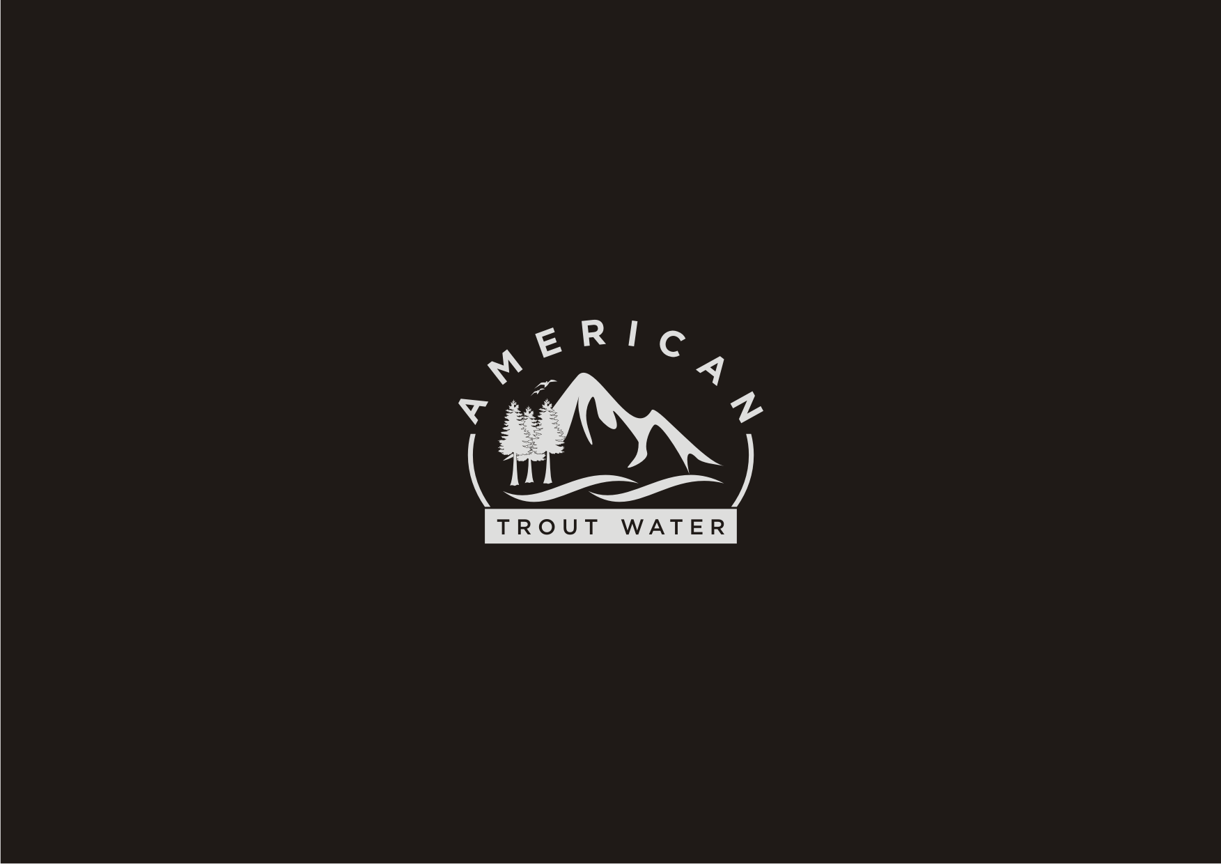 Logo Design by Sigitumarali Sigit - Entry No. 3 in the Logo Design Contest American Trout Water Logo Design.