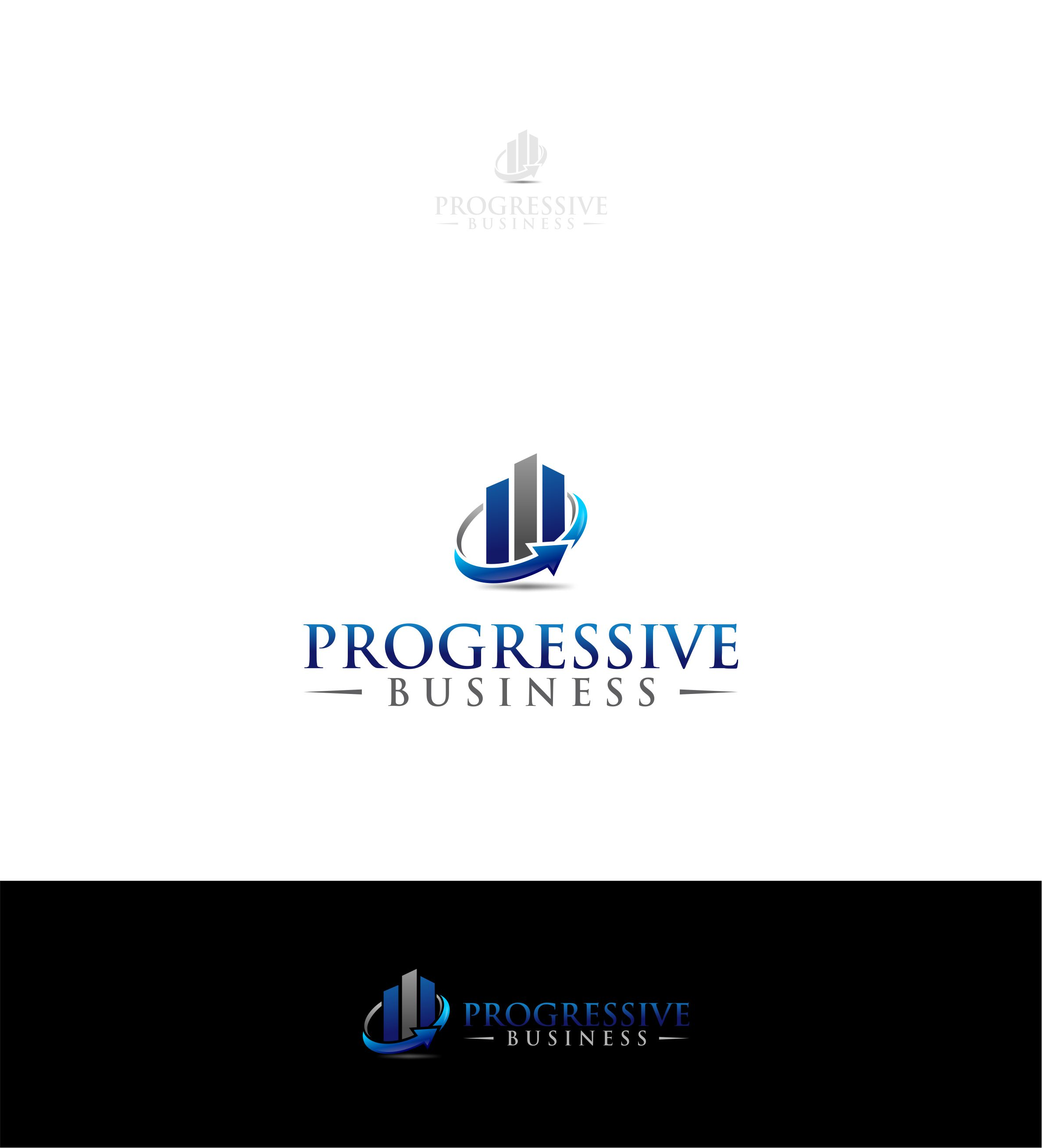 Logo Design by Raymond Garcia - Entry No. 15 in the Logo Design Contest Captivating Logo Design for Progressive Business.