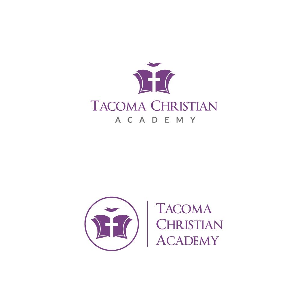 Logo Design by rioDesign - Entry No. 67 in the Logo Design Contest Imaginative Logo Design for Tacoma Christian Academy.