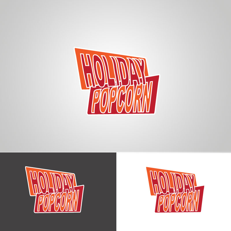 Logo Design by musemuse - Entry No. 42 in the Logo Design Contest Holiday Popcorn.