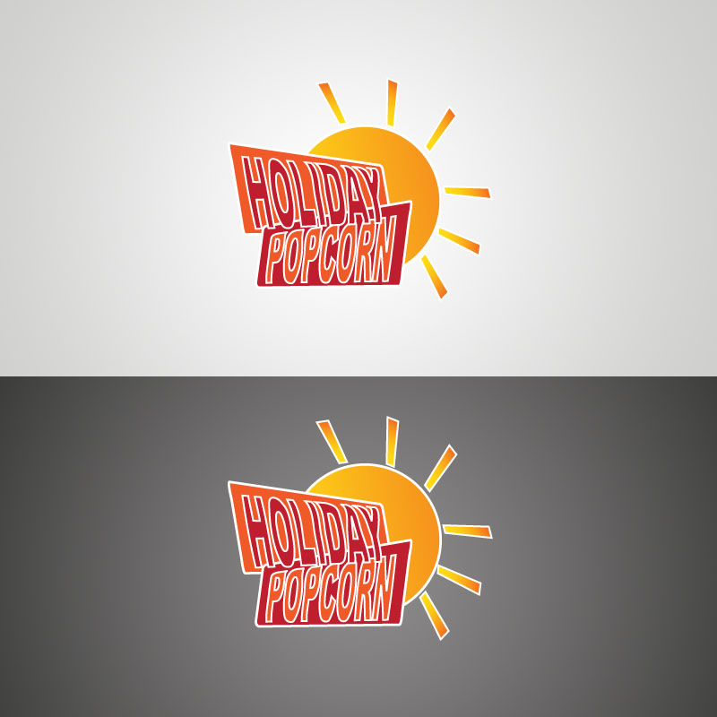 Logo Design by musemuse - Entry No. 44 in the Logo Design Contest Holiday Popcorn.