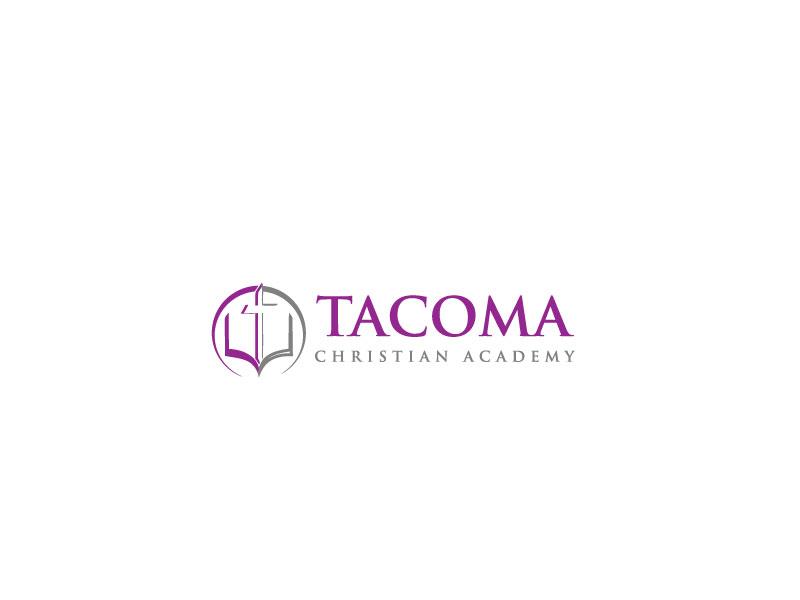 Logo Design by Private User - Entry No. 79 in the Logo Design Contest Imaginative Logo Design for Tacoma Christian Academy.
