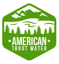 Logo Design by Rob King - Entry No. 9 in the Logo Design Contest American Trout Water Logo Design.