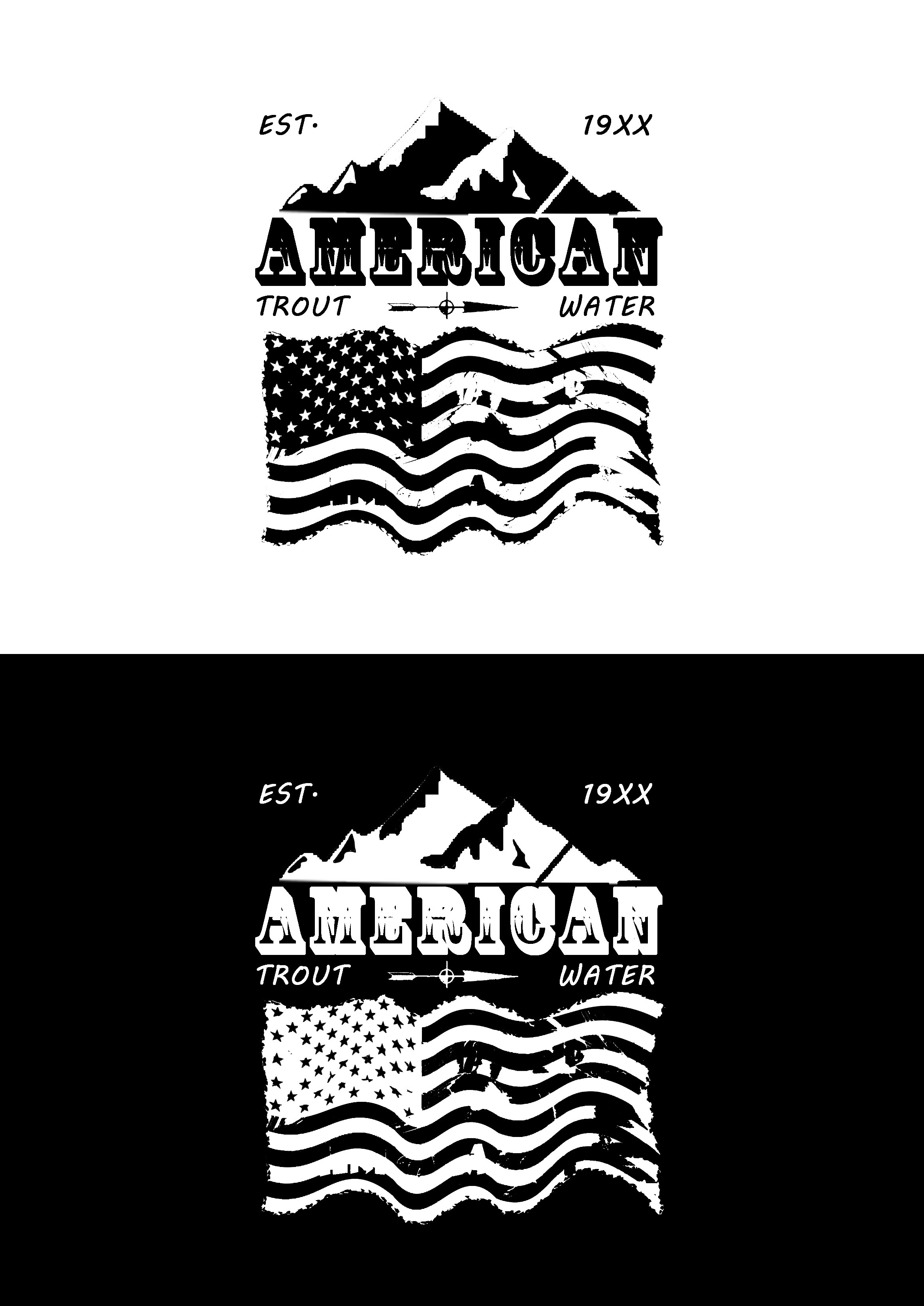 Logo Design by JSDESIGNGROUP - Entry No. 15 in the Logo Design Contest American Trout Water Logo Design.
