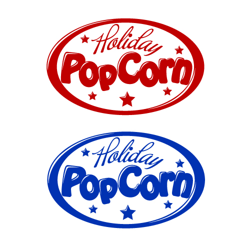 Logo Design by SilverEagle - Entry No. 46 in the Logo Design Contest Holiday Popcorn.