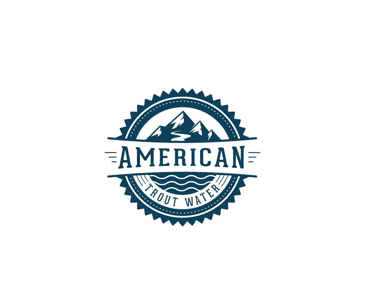 Logo Design by Juan Luna - Entry No. 18 in the Logo Design Contest American Trout Water Logo Design.