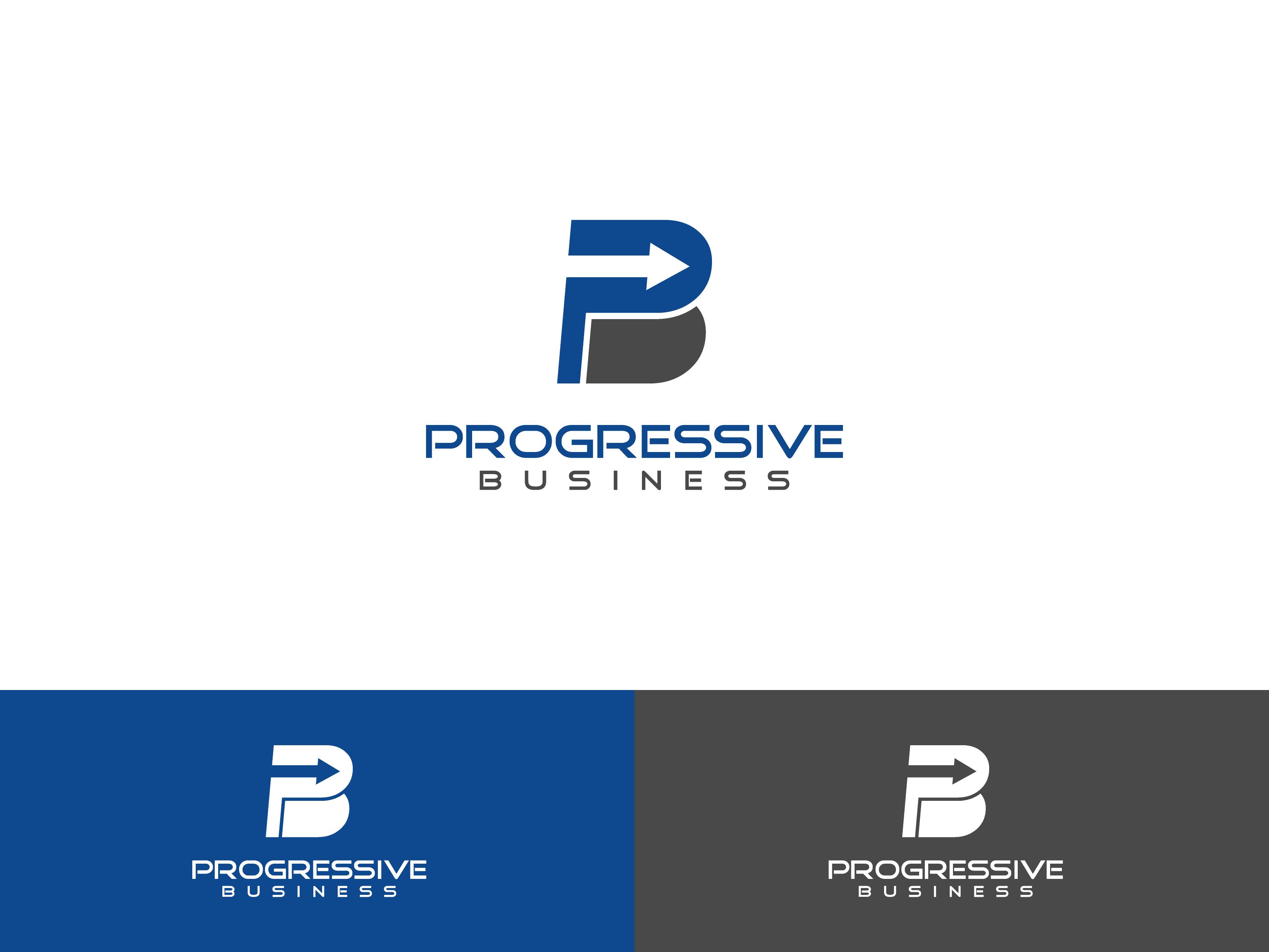 Logo Design by Shivaprasad Sangondimath - Entry No. 27 in the Logo Design Contest Captivating Logo Design for Progressive Business.