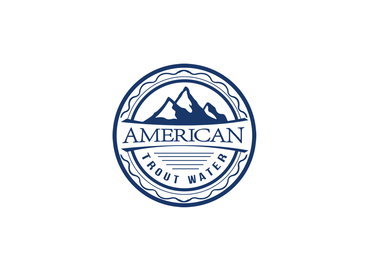 Logo Design by MonsterGraphics - Entry No. 21 in the Logo Design Contest American Trout Water Logo Design.
