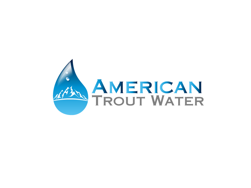 Logo Design by Private User - Entry No. 22 in the Logo Design Contest American Trout Water Logo Design.