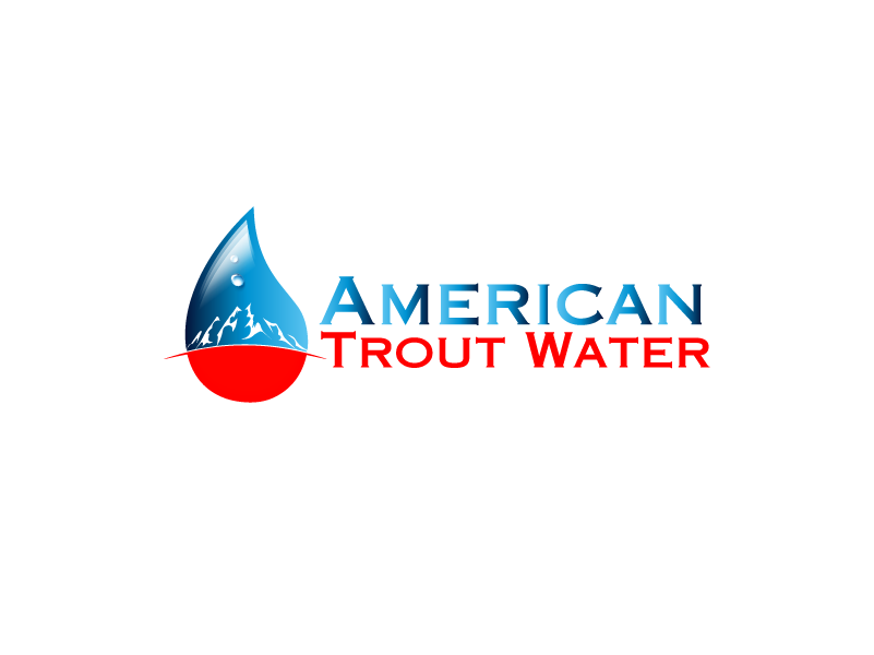 Logo Design by Private User - Entry No. 23 in the Logo Design Contest American Trout Water Logo Design.