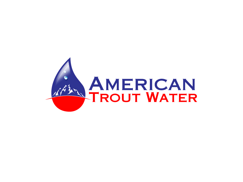 Logo Design by Private User - Entry No. 24 in the Logo Design Contest American Trout Water Logo Design.