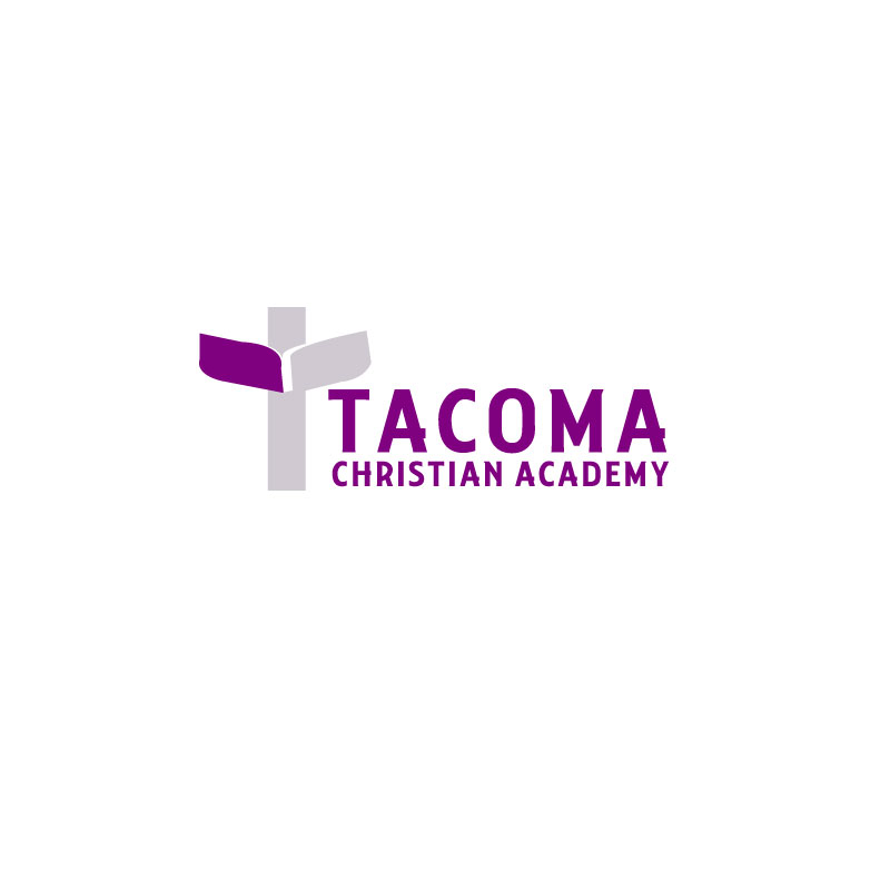 Logo Design by Ajaz ahmed Sohail - Entry No. 100 in the Logo Design Contest Imaginative Logo Design for Tacoma Christian Academy.