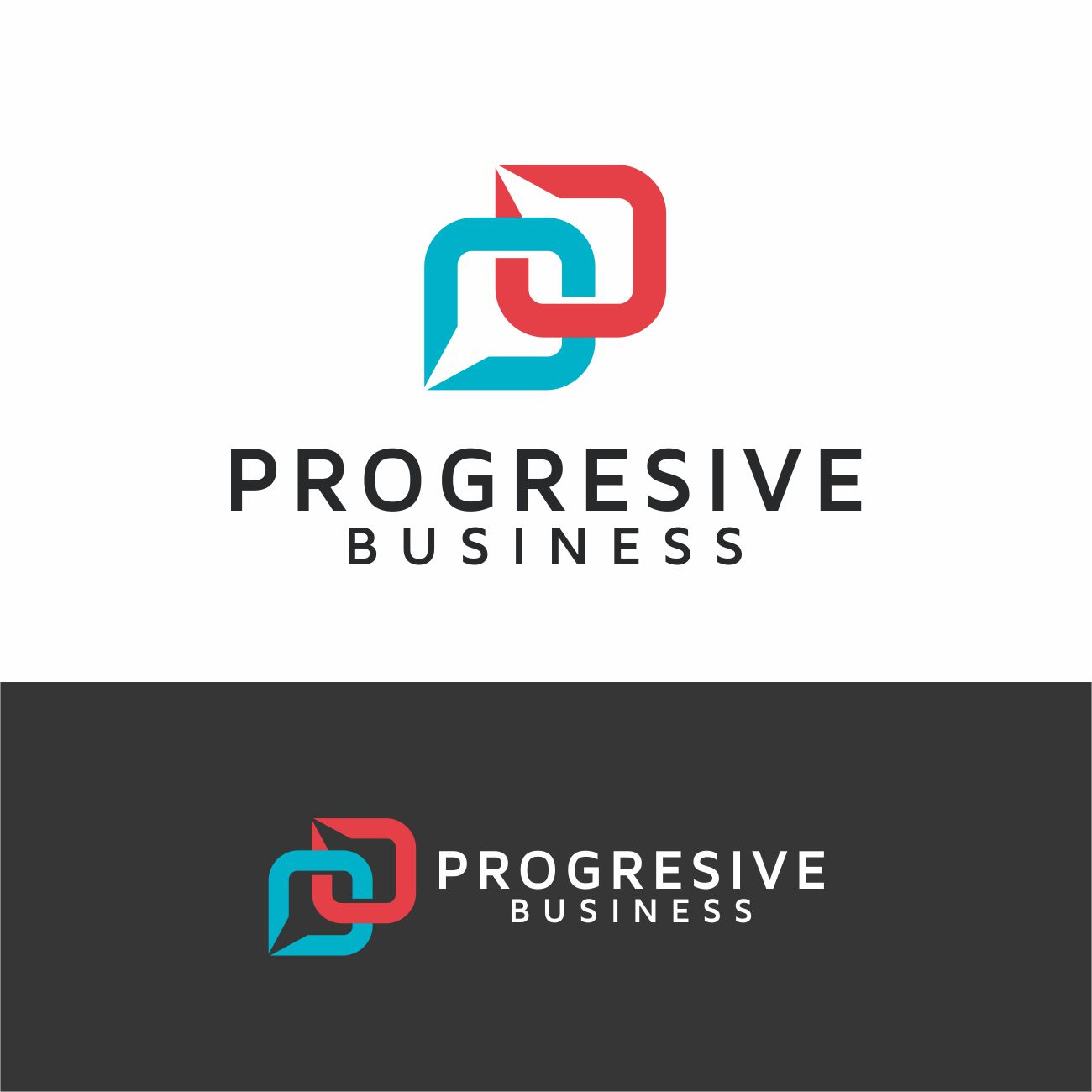 Logo Design by RasYa Muhammad Athaya - Entry No. 37 in the Logo Design Contest Captivating Logo Design for Progressive Business.