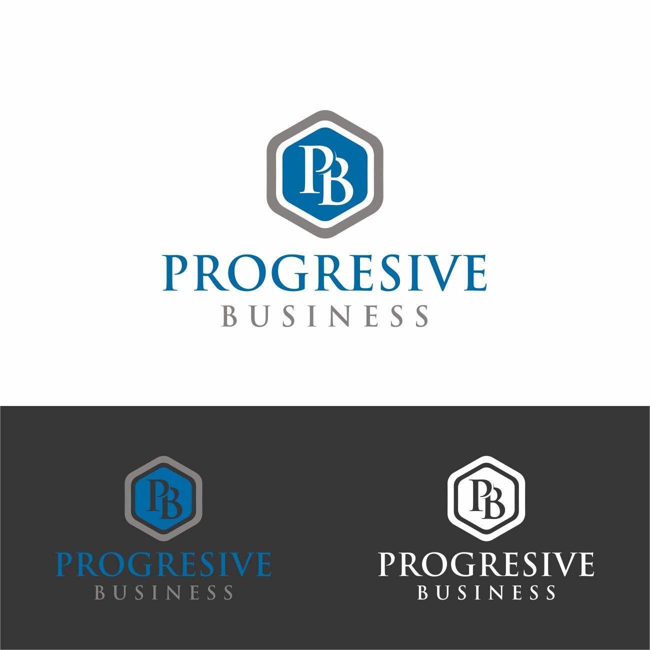 Logo Design by RasYa Muhammad Athaya - Entry No. 38 in the Logo Design Contest Captivating Logo Design for Progressive Business.