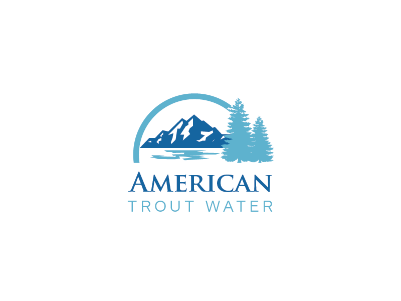 Logo Design by roc - Entry No. 25 in the Logo Design Contest American Trout Water Logo Design.