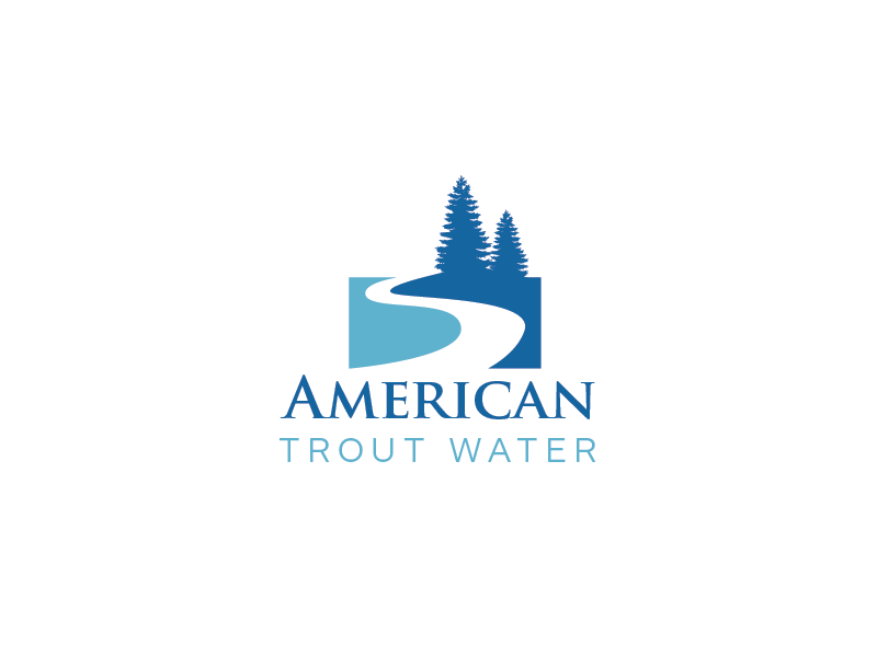 Logo Design by roc - Entry No. 26 in the Logo Design Contest American Trout Water Logo Design.