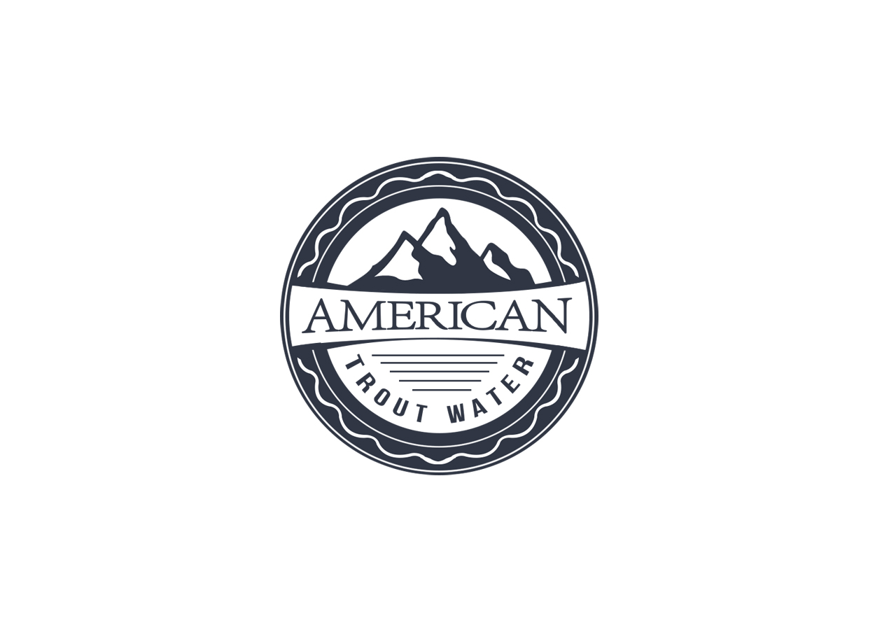 Logo Design by MonsterGraphics - Entry No. 29 in the Logo Design Contest American Trout Water Logo Design.