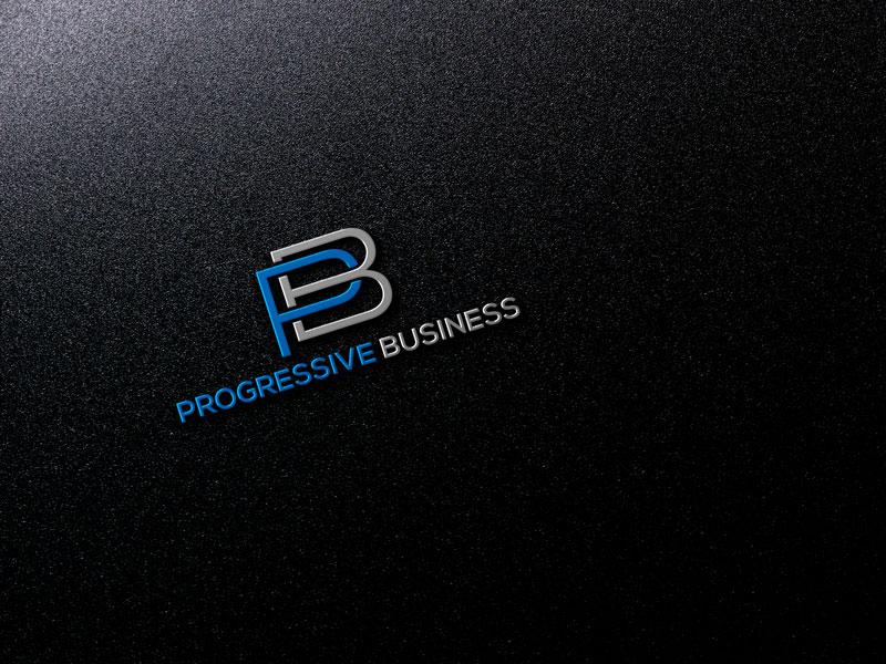 Logo Design by Private User - Entry No. 54 in the Logo Design Contest Captivating Logo Design for Progressive Business.