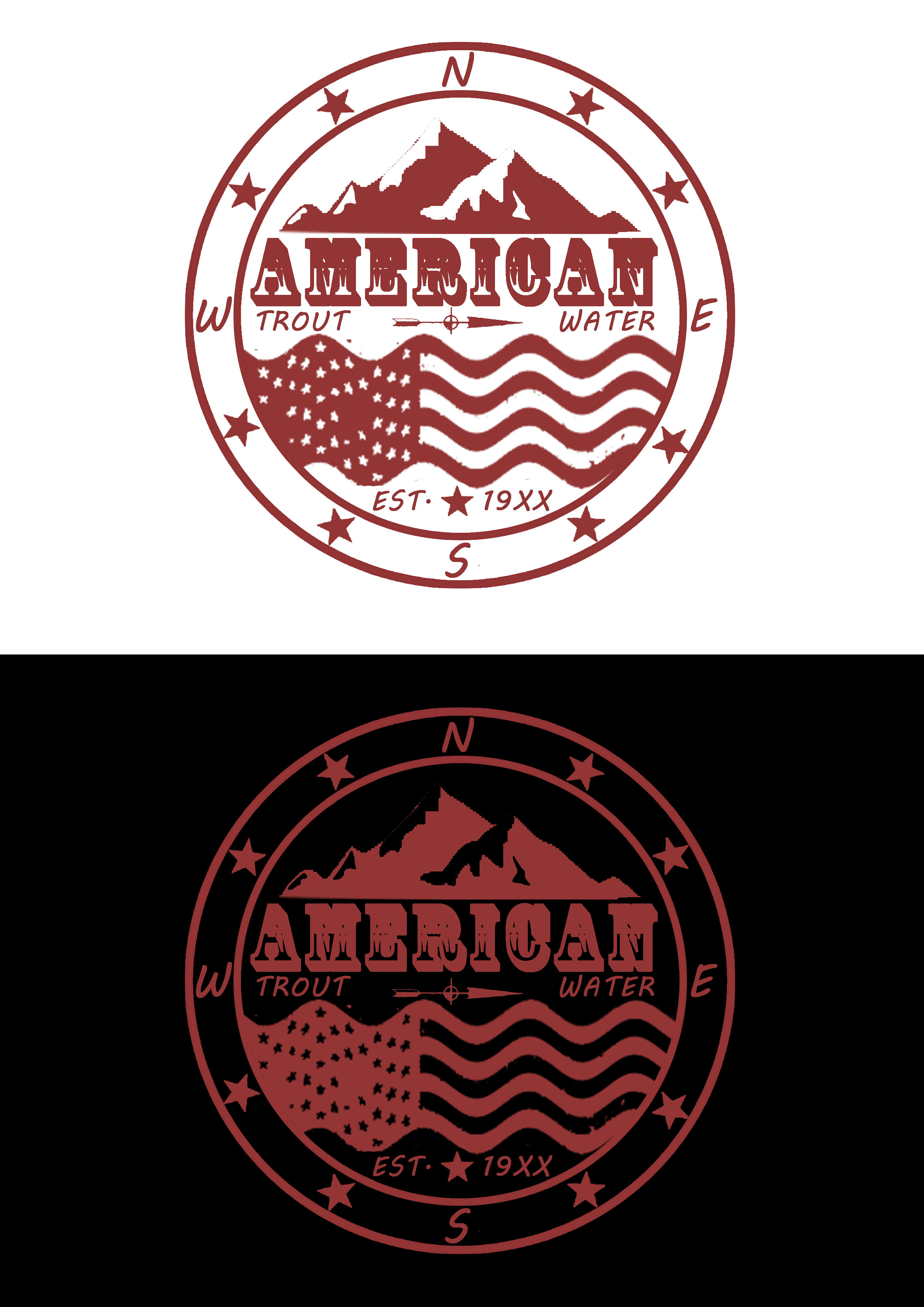 Logo Design by JSDESIGNGROUP - Entry No. 35 in the Logo Design Contest American Trout Water Logo Design.