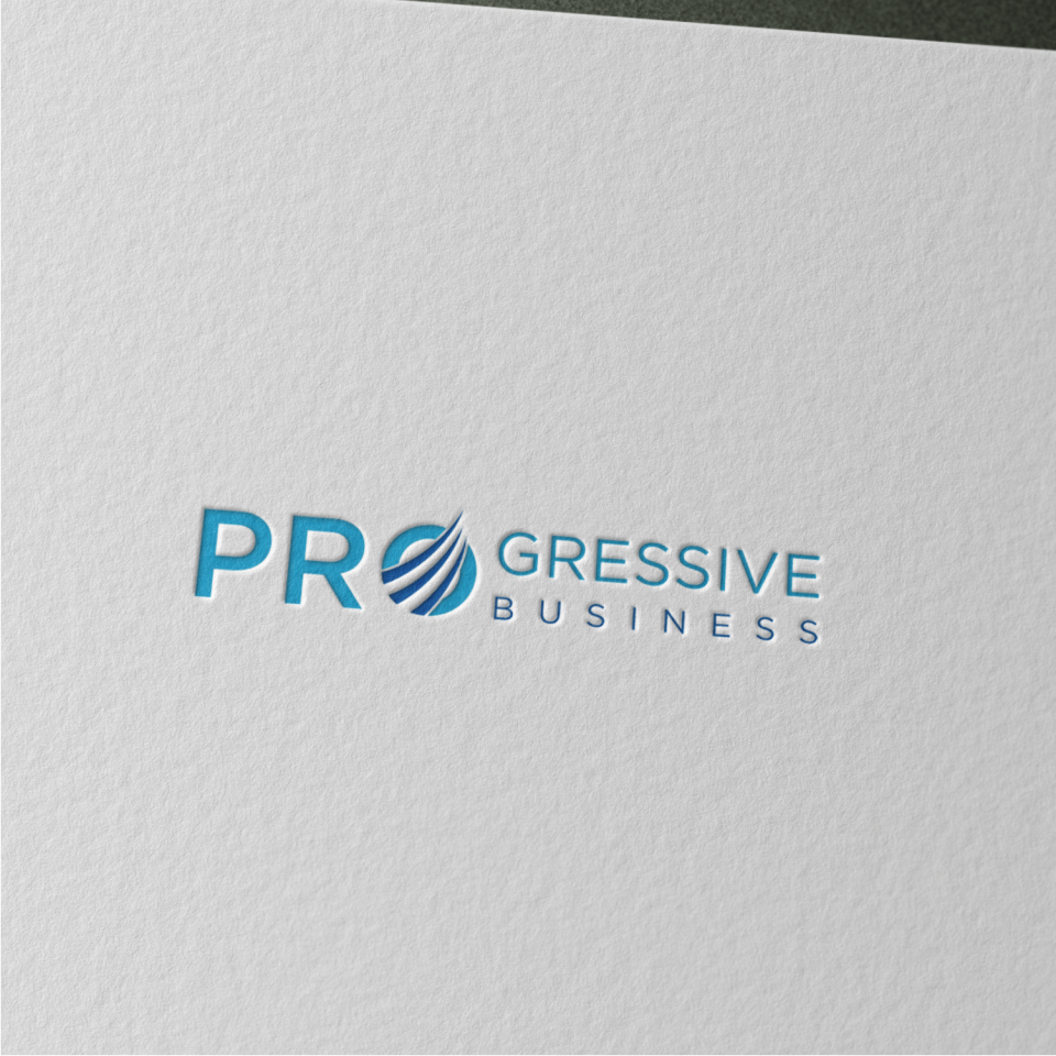 Logo Design by Zamzam -Mahsun - Entry No. 56 in the Logo Design Contest Captivating Logo Design for Progressive Business.