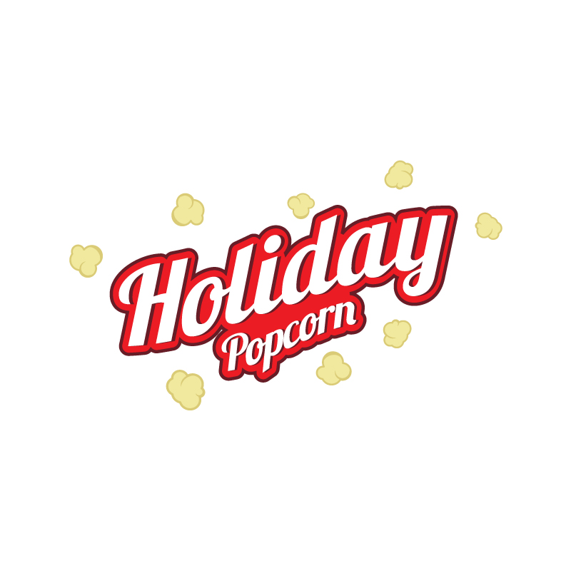 Logo Design by Flame - Entry No. 50 in the Logo Design Contest Holiday Popcorn.
