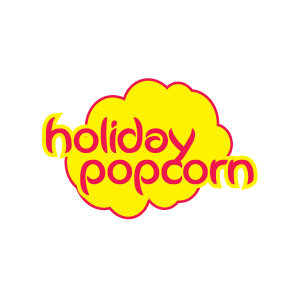 Logo Design by Hoshi.Sakha - Entry No. 52 in the Logo Design Contest Holiday Popcorn.