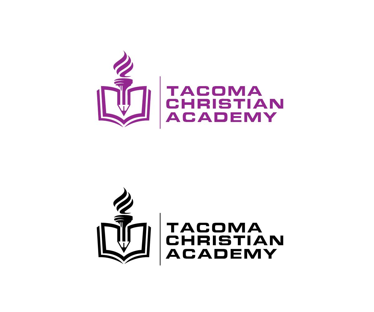 Logo Design by Juan Luna - Entry No. 118 in the Logo Design Contest Imaginative Logo Design for Tacoma Christian Academy.