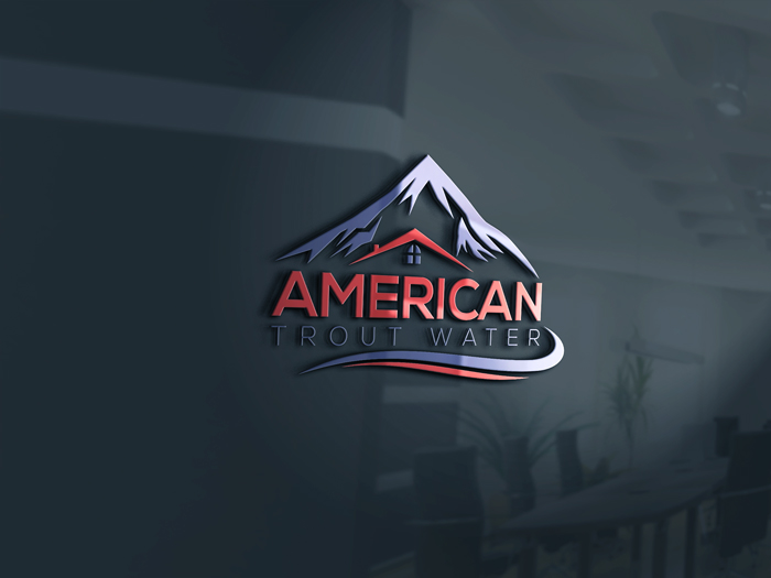 Logo Design by Mohammad azad Hossain - Entry No. 48 in the Logo Design Contest American Trout Water Logo Design.