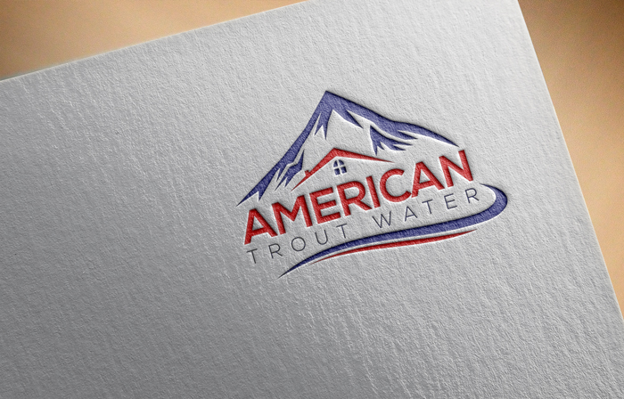 Logo Design by Mohammad azad Hossain - Entry No. 50 in the Logo Design Contest American Trout Water Logo Design.