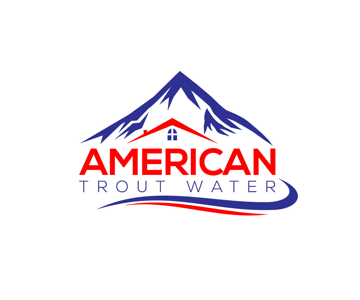 Logo Design by Mohammad azad Hossain - Entry No. 51 in the Logo Design Contest American Trout Water Logo Design.