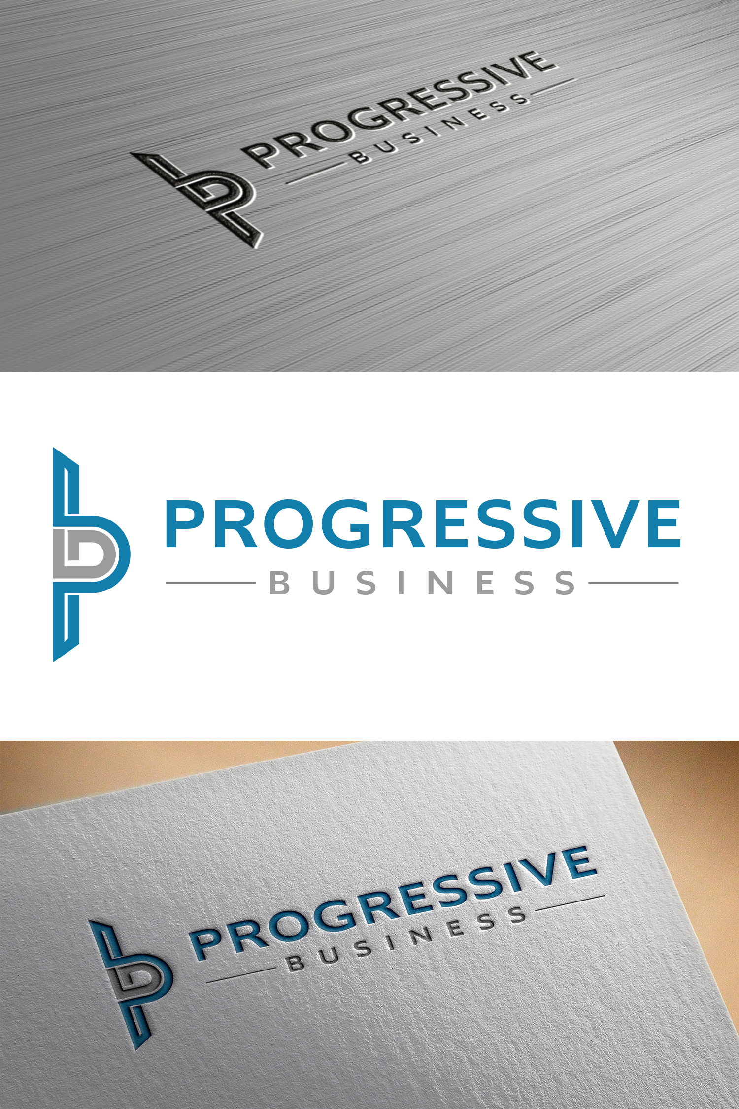 Logo Design by Umair ahmed Iqbal - Entry No. 81 in the Logo Design Contest Captivating Logo Design for Progressive Business.