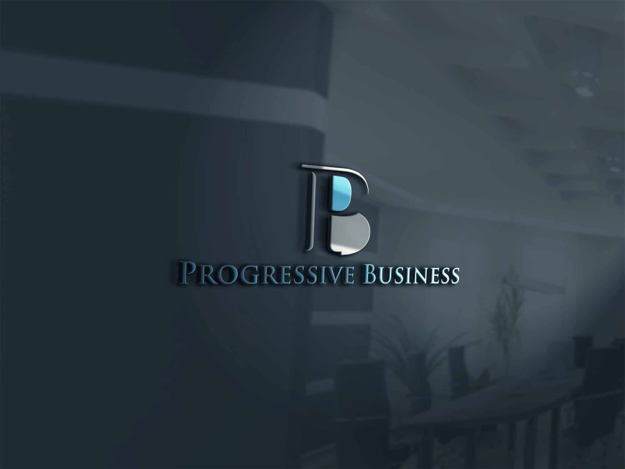Logo Design by Private User - Entry No. 84 in the Logo Design Contest Captivating Logo Design for Progressive Business.