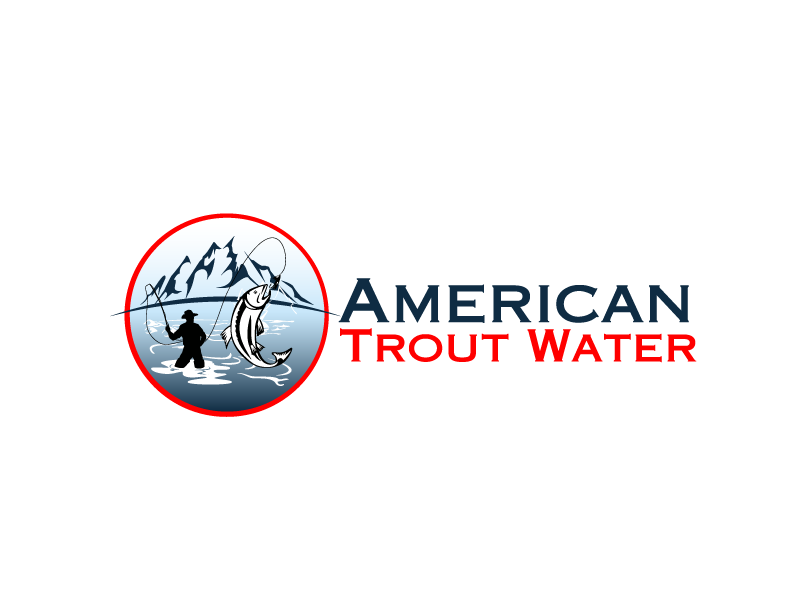 Logo Design by brands_in - Entry No. 53 in the Logo Design Contest American Trout Water Logo Design.