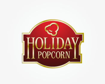 Logo Design by xpressions - Entry No. 53 in the Logo Design Contest Holiday Popcorn.