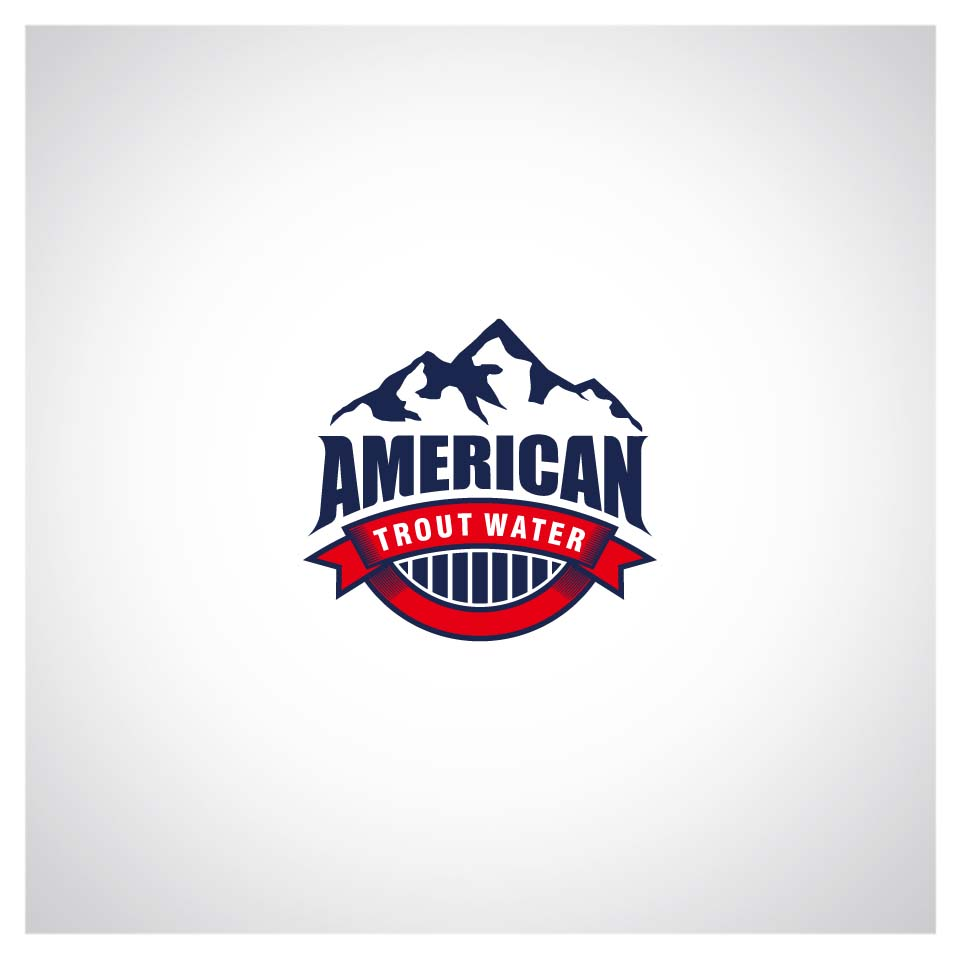 Logo Design by Puspita Wahyuni - Entry No. 56 in the Logo Design Contest American Trout Water Logo Design.