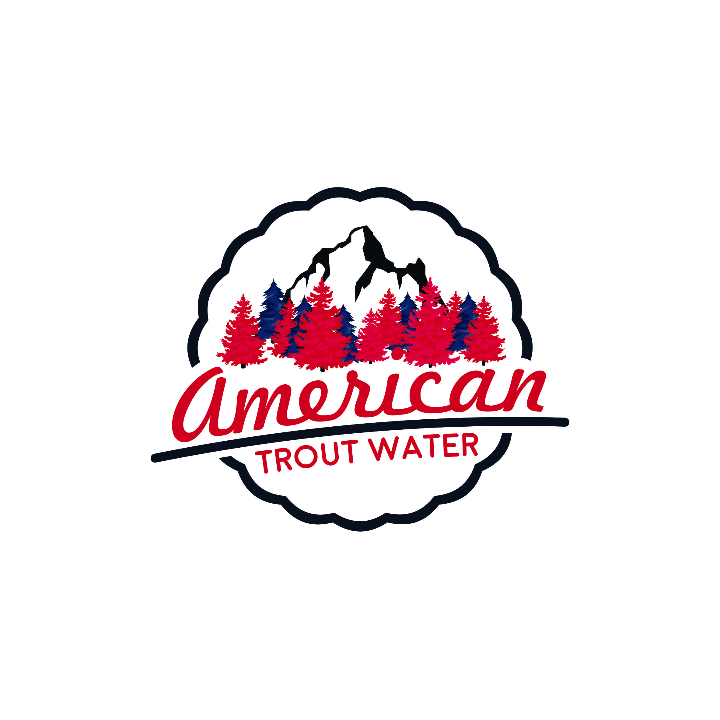 Logo Design by AlkalineDesign - Entry No. 57 in the Logo Design Contest American Trout Water Logo Design.